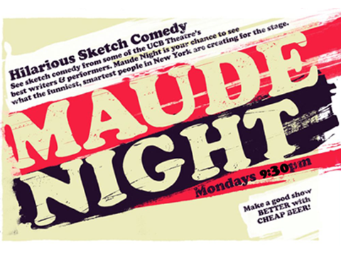 Maude Night: UCB's Sketch Comedy House Teams