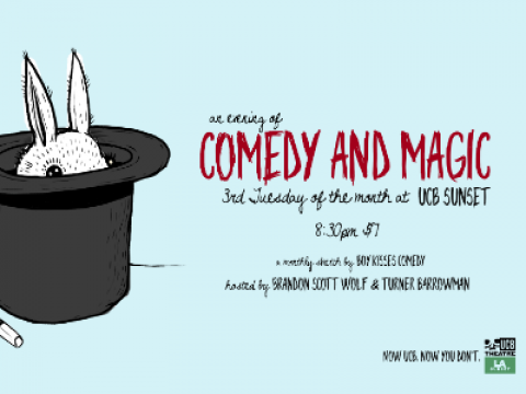 An Evening of Comedy & Magic with Turner and Brandon
